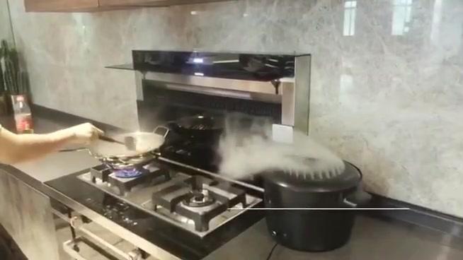 厨房改造--奥田缔造开放厨房万州店
